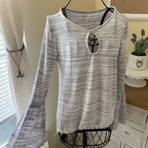 XS ana Grey Long Sleeve Shirt